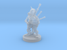 Kobold Bard with Bagpipes 3d printed