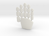 Daft Punk glove plates - right hand 3d printed