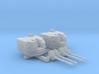 "1/700 Battle Class 4.5""/45 QF MKIV RP10 Gun x2 3d printed 1/700 Battle Class 4.5""/45 QF MKIV RP10 Gun x2"