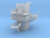 1/200 DKMScharnhorstAdmiral's Bridge 2 3d printed