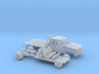 1/87 1990-98 Chevrolet ExtCab Dually Flatbed Kit 3d printed