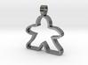 Big empty meeple [pendant] 3d printed