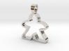 Empty Meeple  [pendant] 3d printed