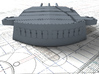 """1/200 HMS Nelson 16""""/45 (40.6 cm) Mark I Guns 1927 3d printed 3d render showing A,B and X Turret detail"""