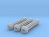 Tsunami Gatling Weapons - Set of 3 (Long Barrel) 3d printed