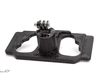 DJI Controller Phone / Tablet Mount Plate Insert 3d printed Shown here with a standard GoPro tripod mount attached.
