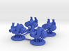 Turrets for Gaslands - 4 Pack 3d printed