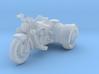 Indian Scout Custom Trike  1:87 HO 3d printed