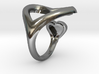 2 heart ring 3d printed