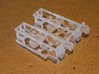 """HO AB Brake System Kit 3d printed This is the """"d00"""" AB brake sprue (WITHOUT regulators).  There are enough parts for two cars."""