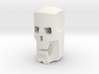 Stylized skull head for ModiBot 3d printed Stylized skull head for ModiBot