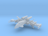 Clarion Republic Strike Fighter (1/270) 3d printed