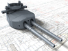 "1/400 HMS Hood 15"" (38.1 cm) Mark II Turrets 1941 3d printed 3d render showing B Turret detail"