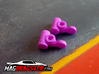 MagDragster Knuckles [Golf Mk1 Chassis] 3d printed