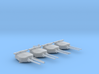 "1/720 HMS Hood 15"" Mark II Turrets 1941 B. Bags 3d printed 1/720 HMS Hood 15"" Mark II Turrets 1941 B. Bags"