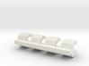 losi jrx pro snap clip / hub clip 3d printed