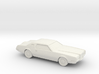 1/76 1971 Lincoln Continental Mark IV 3d printed
