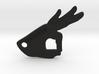 Gotcha Keychain v2 3d printed