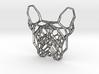 French Bulldog Pendant 3d printed