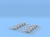 Crane block hooks Zscale 3d printed Crane Hooks Z scale