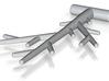 Birch Pendant (Steel) 3d printed