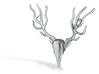Deer Pendant  3d printed