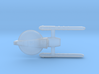 Confederation Foresight class Scout Cruiser 3d printed