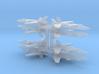 3mm Sci-Fi Interceptors (8pcs) 3d printed