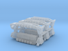 3mm Sci-Fi Superheavy VTOLs (6pcs) 3d printed