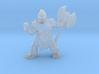 Dwarf Barbarian 3d printed