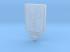 Elcar Badge 3d printed