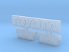 RCN014 Emblems for Pro-Line Toyota SR5  3d printed