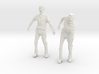 1-18 Male Zombie Set4 3d printed
