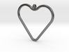 Heart_necklace 1 v1 3d printed