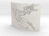 Spiderman Curved Lithophane 3d printed