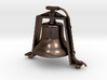 """Bronze 1.5"""" Scale Air Powered Bell  3d printed"""