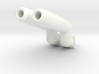 M.A.S.K. Bullet Motorbike Exhaust Pipes 3d printed