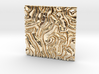 Coral pattern Seamless Decorative miniature  tiles 3d printed