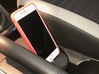 iPhone car mount/holder for Kia Stonic, Carens 3d printed Kia stonic iPhone car mount holder docking in black with stable connection and charge to apple carplay_1743