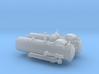 Torpedotubeends 1 to 35 Italeri 3d printed