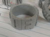 Schrodingers Ring Size 12 3d printed Featured in Alumide