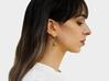 Rabbit Earrings (Speaking) 3d printed