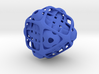 Intersecting tetrahedron nested 3d printed
