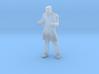Man Standing: Long Coat & Cap 3d printed