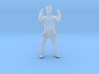 Man Standing Hands In Air: Suit and Top Hat 3d printed
