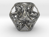 Organic Dodecahedron star nest 3d printed