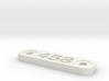 Caliber Marker - MLOK - 458 SOCOM 3d printed