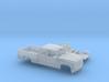 1/87 1999-02 Chevy Silverado2500 EXTCab RegBed Kit 3d printed
