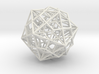 """Great Dodecahedron / Dodecahedron Compound 1.6"""" 3d printed"""