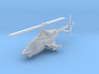 030M Modified Bell 222 With Weapons 1/160 3d printed